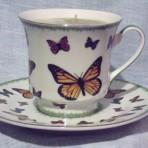 Butterfly Hugs Tea Cup