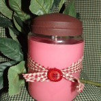 Rustic Jar Candle